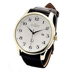 Pánske hodinky GARET 119387-3E  ..panske retro;-) Fine Watches, Watches For Men, Watch 2, Retro, Nice Watches, Men's Watches, Retro Illustration