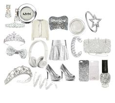 """""""#ALLSILVER"""" by lovelivinglife-1 ❤ liked on Polyvore featuring Kate Spade, DKNY, Dorothy Perkins, Topshop, Kate Marie, Monsoon, KC Designs, Gemma Redux, Natasha Couture and Cynthia Rowley"""