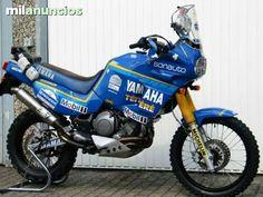 The Yamaha Super Tenere Big Thread Yamaha Xt 600, Yamaha Bikes, Moto Enduro, Scrambler, Super Tenere, Rally Dakar, Rallye Raid, Motorcycle Engine, Motorcycle Luggage