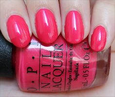 OPI A Definite Moust-Have (From the Couture de Minnie Collection. Click through for an in-depth review and more swatches!)