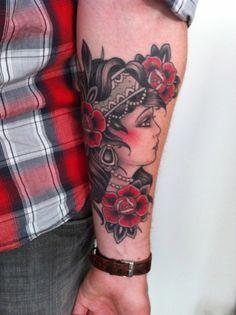 W. T. Norbertat Inner Tattoo