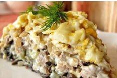 Фирменный рецепт минского ресторана — салат «Орландо»