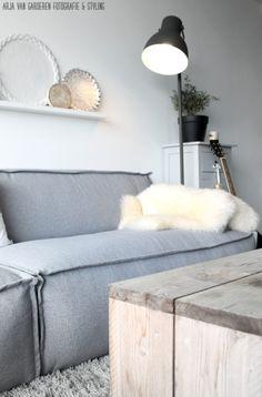 Scandinavisch interieur - Arja van Garderen fotogradie & styling (blog: ons huisje op negen hoog)