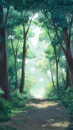 Fantasy Art Landscapes, Fantasy Landscape, Landscape Art, Beautiful Landscapes, Landscape Paintings, Illustration Manga, Landscape Illustration, Scenery Background, Animation Background