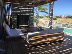 Beach House , Costa Esmeralda , Polo. Design by Maxi Trípodi . Forniture by BdT. Lighting by RH . Arq. Diego Echeverría.