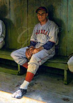 Baseball Guys, Baseball Art, Baseball Photos, Baseball Players, Baseball Painting, Ken Burns, Cincinnati Reds, Sports Art, Hipster