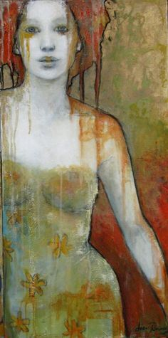 Joan Dumouchel | The beauty of women in art | Pinterest