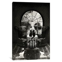 "Charlton Home Room Skull by Ali Gulec Graphic Art on Wrapped Canvas Size: 18"" H x 12"" W x 0.75"" D"