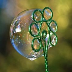 Magic Bubble Tree Joy Bubbles Wand by Thyme2dream on Etsy, $10.00