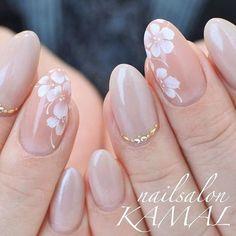 graduation ceremony Spring / All season / Graduation ceremony / Office / Hand-nailsalon KAMAL nail design. Classy Nails, Stylish Nails, Simple Nails, Cute Nails, Gel Nail Art, Acrylic Nails, Nail Nail, Hair And Nails, My Nails
