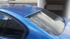 F30 CAM ÜSTÜ SPOYLER #bmw #bodykit #istanbul #fiberflex #tuning #modifiye #tuningcar #car #araba
