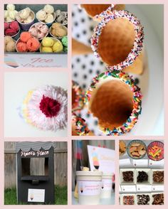"""""""Scoops of Fun"""" Ice Cream Party   {One Charming Party}"""