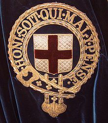 Order of the Garter (Knights of St. George), the oldest and most exclusive order of chivalry