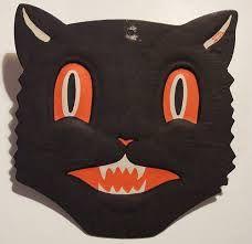 black cat halloween mask - Google Search
