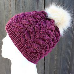 Ravelry: Liljas vinterlue pattern by Hilde Stensrud Knitting Stitches, Knitting Patterns, Crochet Crafts, Knit Crochet, Knit Beanie Hat, Knitting Accessories, Kids Hats, Ravelry, Headbands