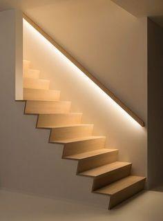Nya Interieurontwerp Verlichting trap