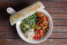 Bannock: St-Canut BBQ Piglet Shank with black eyed peas, mustard greens and chicharrónes. #Toronto #food #restaurant