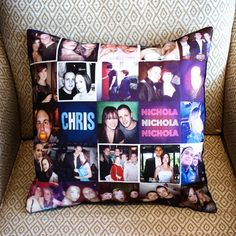 The Stitchtagram websiteworks together with Instagram,making it a breeze to sync up your pictures (your friends' too) and create a personalized pillow. You choose either four or 25 photos, and Stitchtagram makes your pillow by hand, throws in a comfy plush insert and ships it for free!