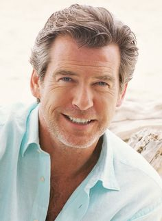 Pierce Brosnan is like a fine wine. So much better with every year.