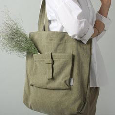Backpacks, Bags and much more. Diy Tote Bag, Tote Backpack, My Bags, Purses And Bags, Linen Bag, Fabric Bags, Basic Style, Shopper Bag, Handmade Bags