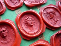 Greek Goddess - someone intimated that they thought it could be Cassandra? Would love to hear others thoughts.  Also part of my personal collection #waxseal