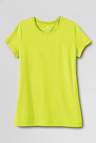 Shaped Layering Crewneck T-shirt