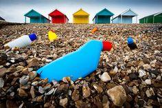 Beach huts - Calshot , Hampshire