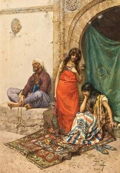 View Am Sklavenmarkt by Giulio Rosati on artnet. Browse upcoming and past auction lots by Giulio Rosati. Romanticism Artists, Exotic Art, Ancient Beauty, Arabic Art, Painting Gallery, Antique Paint, Arabian Nights, Vintage Artwork, Sculpture
