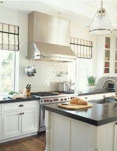 Classic Black And White Kitchen classic black-and-white rooms from hgtv fans | white rooms