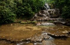 Visit the beautiful waterfalls near Palenque, Mexico with Magical Light Adventures Photo Workshops.