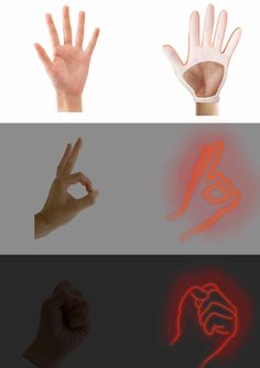 Wang Lili has designed a smart device allowing people to communicate with the help of gestures even in darkness. The Night Communication is a solar empowered LED silicone glove concept....