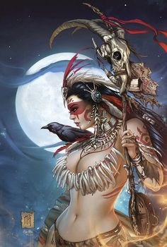 GFT Presents - Dark Shaman (4P Ms) 1 - Cover A