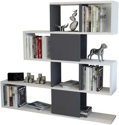 online shopping for Dakota Geometric Bookcase Hashtag Home from top store. See new offer for Dakota Geometric Bookcase Hashtag Home Cube Bookcase, Etagere Bookcase, Bookcase Storage, Bookshelves, Contemporary Bookcase, Modern Bookcase, Modern Contemporary, Cube Unit, Empty Spaces