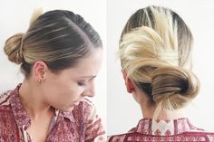 "Thursday's Slept-On ChignonFun fact: Creating a chic-and-sophisticated twisted chignon is far easier if it's had a wild night. ""Day-two hair is the [best] for me to style on myself because my hair has a little texture and grit, but isn't dirty,"" Heath explains. Sleep on your waves from Wednesday and create this look in the morning. The most important step? Sectioning. After parting the hair, clip aside all the strands from your hairline to your ears. Pull the rest of it (ears back) into a…"