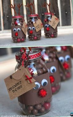 12+ Christmas Candy Jars Gifts