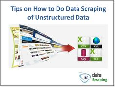 Tips on How to Do Data Scraping of Unstructured Data. #datascraping #data #webscraping