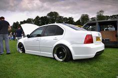 White MK4 Jetta