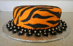 Tiger Print Cake   Birthday Photos Cakes for Little ...