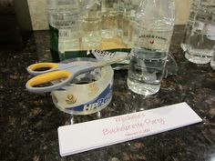 Sweet and Sour Showers: Bachelorette Party Crafts
