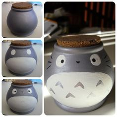totoro+clay+pot.jpg (700×700)