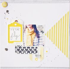 love the yellow/grey color scheme - by jenkinkade