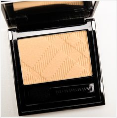 Burberry Gold Pearl Eyeshadow Review, Photos, Swatches  is a pale, yellowy beige with subtle gold sparkle. MAC Dazzlelight is frosted and lighter. Wet 'n' Wild Comfort Zone #1 is a bit lighter and frosted. Wet 'n' Wild Sparkle 'Til Morning #1 is similar in color but metallic in finish. It's kind of like Trench, Porcelain, and Gold Trench combined.