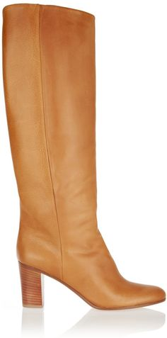 Maison Margiela Leather Knee Boots Listed on Shop Style for $1,000. Got a pair on Yoox for $260.