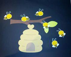 Bees bulletin board