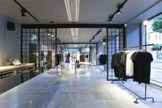 """N is for Norrmalmstorg Nightmare. Acne Studios' Stockholm flagship store on Norrmalmstorg was the location of the 1973 bank robbery and hostage situation that gave rise to the term """"Stockholm Syndrome"""". http://www.ubercultured.com/2016/04/a-visual-alphabet-of-acne-studios.html"""