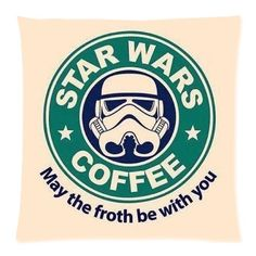 Star Wars Coffee Logo Custom 18*18 Square Throw Pillowcase DIY Cushion Case Diy Throw Pillow Case http://www.amazon.com/dp/B00NOPHXCG/ref=cm_sw_r_pi_dp_ssYlub0S2NTWA