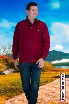 Pull homme grande taille. Col en deux couleurs.  #Tshirt #polo #shirt #chemise #blazer #jacket #veste #débardeur #sweatshirt #cardigan #pullover #Bigandblunt #red #celebratemysize #effyourbeautystandards #BigAndTall #plussizemasculino #plussizemenswear #hommegrandetaille #theeverymanproject #whatisplussize  #gordinho #gordo #bodypositive #taglieforti #bigboy  #plussizefashion #bopowarrior #bodypositivity #plussize Sweat Shirt, Student Loans, Athletic, Blazer, Jackets, Fashion, Plus Size Clothing, Men's Polo, Mens Big And Tall
