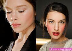 Houd jij niet zo van de glamorous gothiclook en heb je liever wat meer kleur op het gezicht, dan is dit misschien meer wat voor jou. Roze wangen zijn namelijk ook een van de make-up trends voor winter 2012-2013. Zo kwamen bij Michael Kors felroze wangen voorbij en gingen ze bij Dolce & Gabbana voor een wat lichtere roze blush. Natuurlijk past dit perfect bij de naturel look, maar zoals je hierboven ziet kun je het ook leuk combineren met rode lippenstift.