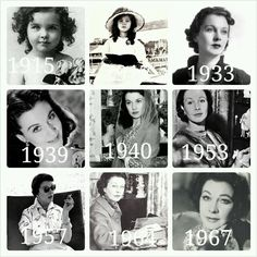 "Vivien Leigh ""over the years"" she aged so perfectly!"