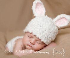 Baby Hat Pattern 2 In 1 Newborn Crochet Hat by SnassyCrafter